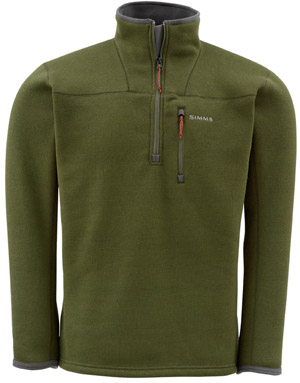<font color=red>On Sale - Clearance</font><br>Simms Rivershed Sweater - Dusky Green