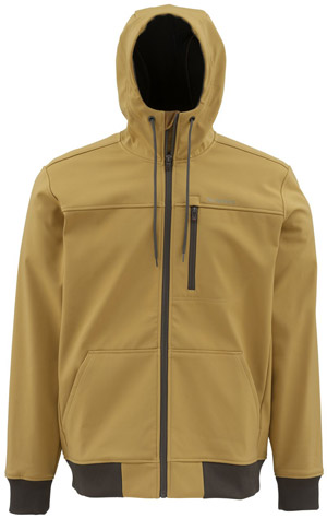 <font color=red>On Sale - Clearance</font><br>Simms Rogue Fleece Hoody - Honey Brown
