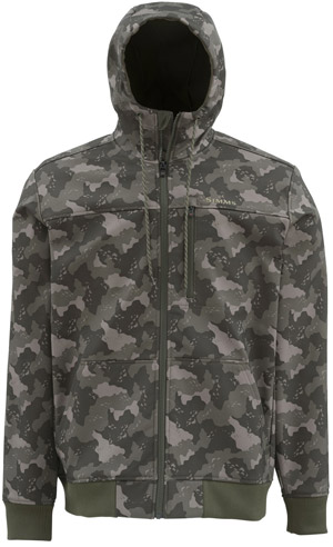 <font color=red>On Sale - Clearance</font><br>Simms Rogue Fleece Hoody - Simms Camo