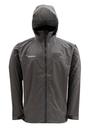 <font color=red>On Sale - Clearance</font><br>Simms Hyalite Rain Shell - Dk Gunmetal