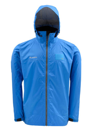 <font color=red>On Sale - Clearance</font><br>Simms Hyalite Rain Shell - Ocean Blue