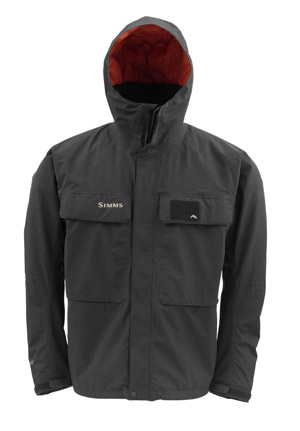 <font color=red>On Sale - Clearance</font><br>Simms Bulkley Jacket - Black (2014 Style)