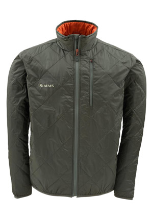 <font color=red>On Sale - Clearance</font><br>Simms Fall Run Jacket - Dk Gunmetal