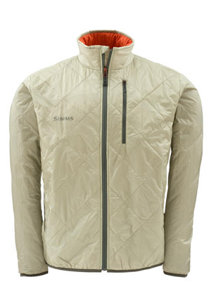 <font color=red>On Sale - Clearance</font><br>Simms Fall Run Jacket - Khaki