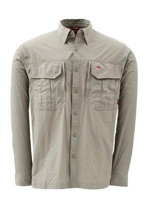 <font color=red>On Sale - Clearance</font><br>Simms Guide Shirt - Oak
