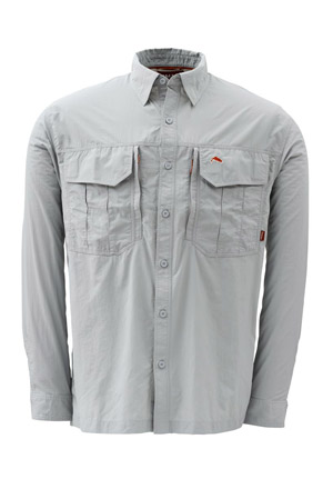 <font color=red>On Sale - Clearance</font><br>Simms Guide Shirt - Shale