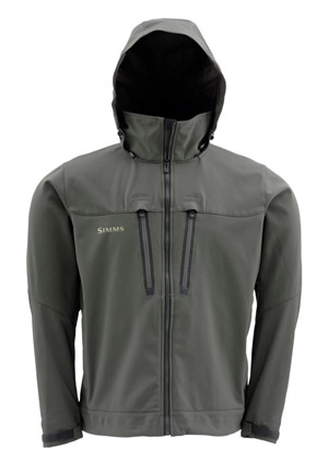 <font color=red>On Sale - Clearance</font><br>Simms Guide Windstopper Jacket - Dk Gunmetal