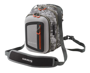<font color=red>On Sale - Clearance</font><br>Simms Headwaters Chest Pack - Catch Camo Dk Gunmetal