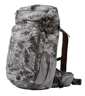 <font color=red>On Sale - Clearance</font><br>Simms Headwaters Day Pack - Catch Camo Dk Gunmetal