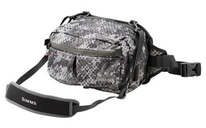 <font color=red>On Sale - Clearance</font><br>Simms Headwaters Sling Pack - Catch Camo Dk Gunmetal