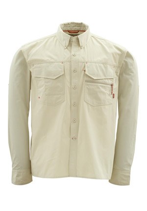 <font color=red>On Sale - Clearance</font><br>Simms Montana Shirt - Birch