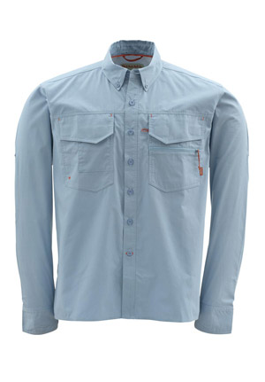 <font color=red>On Sale - Clearance</font><br>Simms Montana Shirt - Stonewash