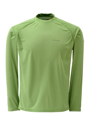 <font color=red>On Sale - Clearance</font><br>Simms Solarflex Shirt - LS - Seagrass