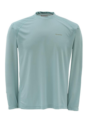 <font color=red>On Sale - Clearance</font><br>Simms Solarflex Shirt - LS - Slate Blue