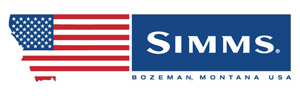 Simms American Made Decal