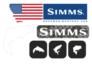 Simms Flag Decal Sheet