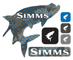 Simms Mega Decal - Tarpon