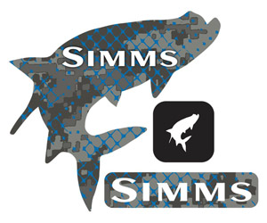 Simms Regular Decal - Tarpon