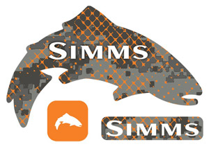 Simms Regular Decal - Trout