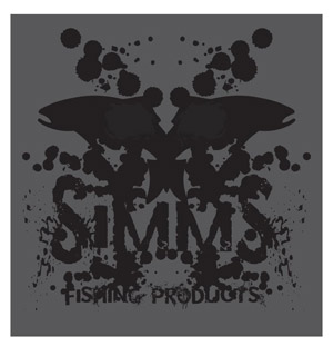 Simms Rorschach Decal