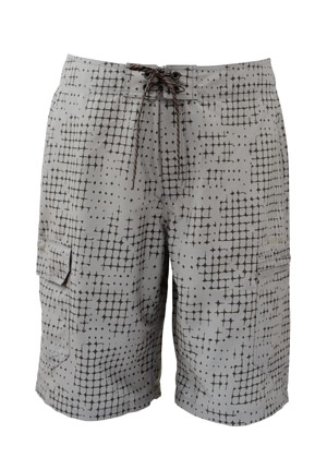<font color=red>On Sale - Clearance</font><br>Simms Surf Short - Cinder Catch Print