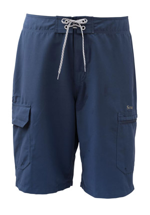 <font color=red>On Sale - Clearance</font><br>Simms Surf Short - Navy