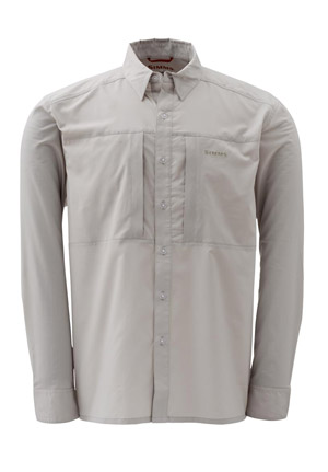 <font color=red>On Sale - Clearance</font><br>Simms Ultralight Shirt - Dk Khaki