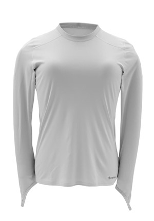 <font color=red>On Sale - Clearance</font><br>Simms Women's Solarflex Crew Neck - Grey
