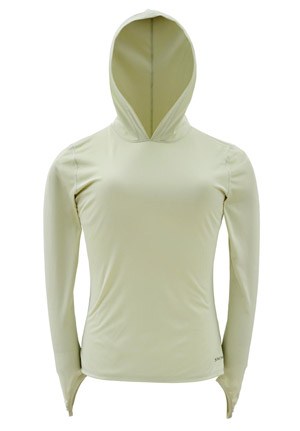 <font color=red>On Sale - Clearance</font><br>Simms Women's Solarflex Hoody - Caye Green