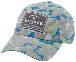 <font color=red>On Sale - Clearance</font><br>Simms Single Haul Cap - Geo Camo