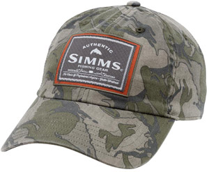 Simms Single Haul Cap - Riffle Camo