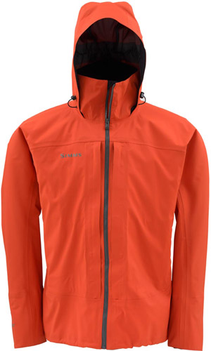 <font color=red>On Sale - Clearance</font><br>Simms Slick Jacket - Fury Orange