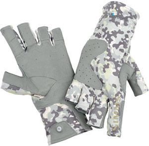 <font color=red>On Sale - Clearance</font><br>Simms Solarflex Guide Glove - Tidal Camo