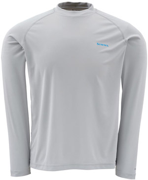 Simms Solarflex LS Crewneck – Graphic Series - Grey