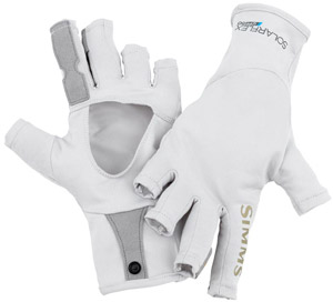 <font color=red>On Sale - Clearance</font><br>Simms Solarflex SunGlove - Grey