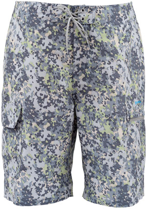 <font color=red>On Sale - Clearance</font><br>Simms Surf Short - Tidal Camo