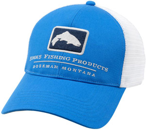 <font color=red>On Sale - Clearance</font><br>Simms Trout Trucker Cap - Oasis