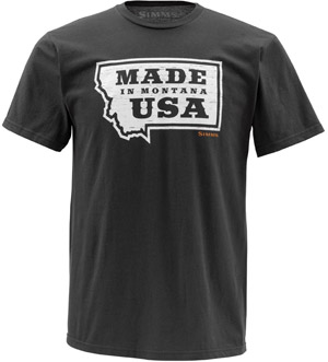 <font color=red>On Sale - Clearance</font><br>Simms USA SS - Gunmetal