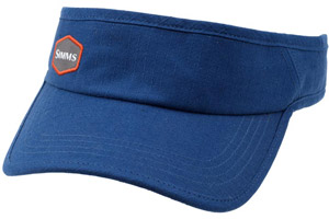 <font color=red>On Sale - Clearance</font><br>Simms Visor - Navy