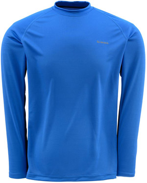 <font color=red>On Sale - Clearance</font><br>Simms WADERWICK Core Crew Neck - Ocean Blue