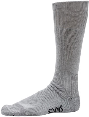 <font color=red>On Sale - Clearance</font><br>Simms WET WADING SOCK - Ash Grey