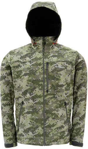 <font color=red>On Sale - Clearance</font><br>Simms WINDSTOPPER HOODY - Catch Camo Agave