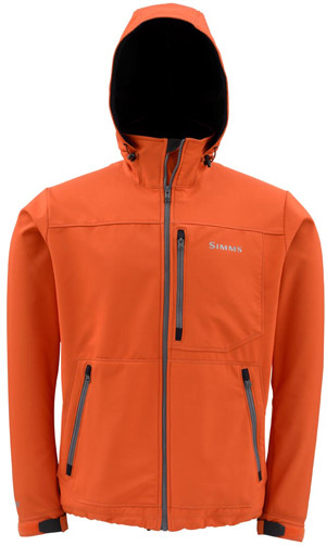 <font color=red>On Sale - Clearance</font><br>Simms WINDSTOPPER HOODY - Fury Orange