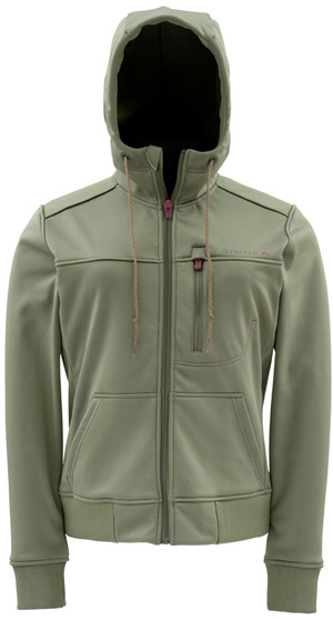 <font color=red>On Sale - Clearance</font><br>Simms WOMEN'S Rogue Fleece Hoody - Olive