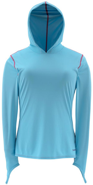 <font color=red>On Sale - Clearance</font><br>Simms Women's Solarflex Hoody - Reef