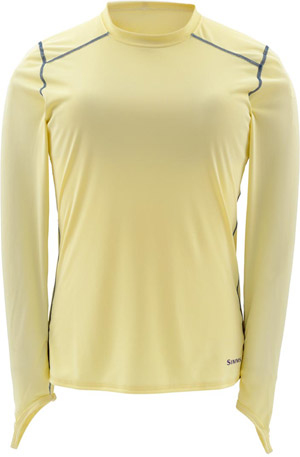 <font color=red>On Sale - Clearance</font><br>Simms Women's Solarflex LS Crewneck - Sandbar