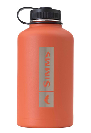 <font color=red>On Sale - Clearance</font><br>Simms Headwaters Insulated 64oz Growler - Simms Orange