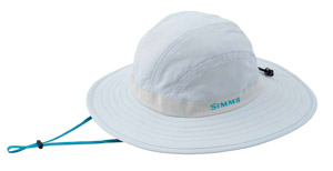 <font color=red>On Sale - Clearance</font><br>Simms Women's Solar Sombrero - Pale Blue