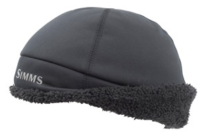 <font color=red>On Sale - Clearance</font><br>Simms ExStream Windbloc Beanie - Raven