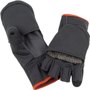 <font color=red>On Sale - Clearance</font><br>Simms Guide Windbloc Foldover Mitt - Raven